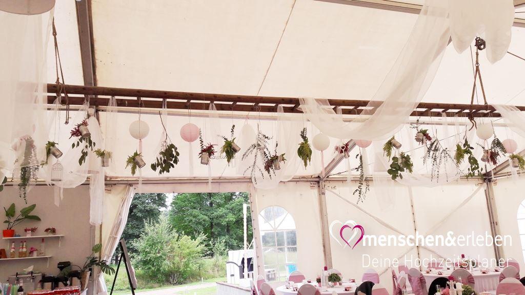 Hochzeit Im Zelt Vintage