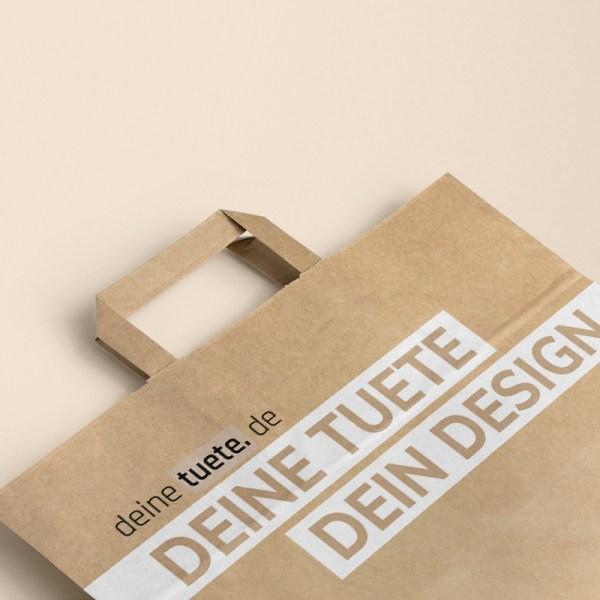 Papiertragetaschen bedrucken mit Logo