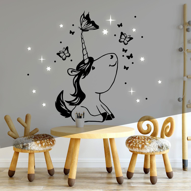 Kinderzimmer Wandgestaltung Sterne Dinki Balloon Kinderzimmer