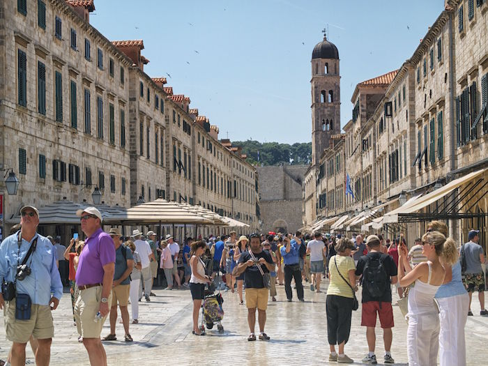Dubrovnik, Old City, photo by Rick Moen