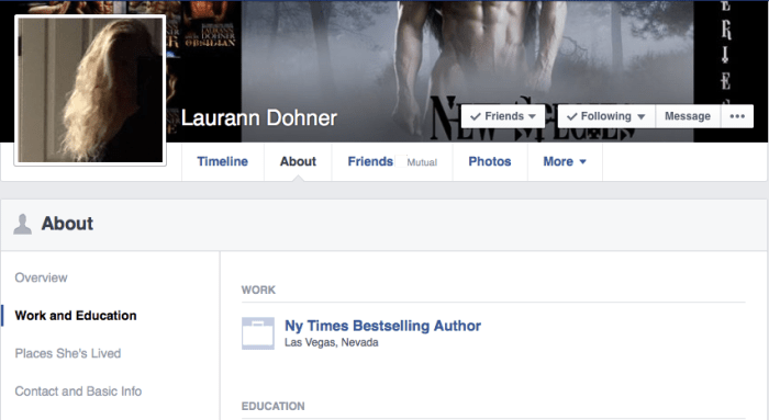 Laurann Dohner • Job Title NY Times Bestselling Author