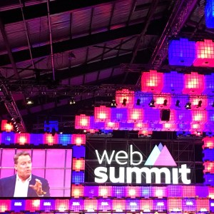 Web Summit i Dublin, her taler Bill Ford