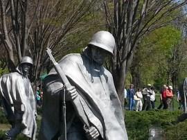 Detail - Korean War Memorial