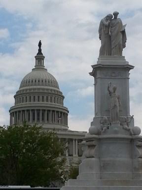 Capital Dome - Peace Statue