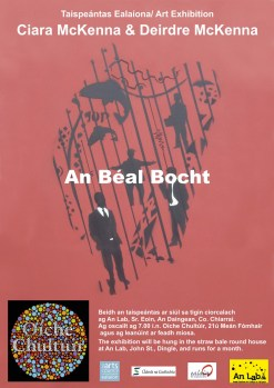 An Béal Bocht poster, image
