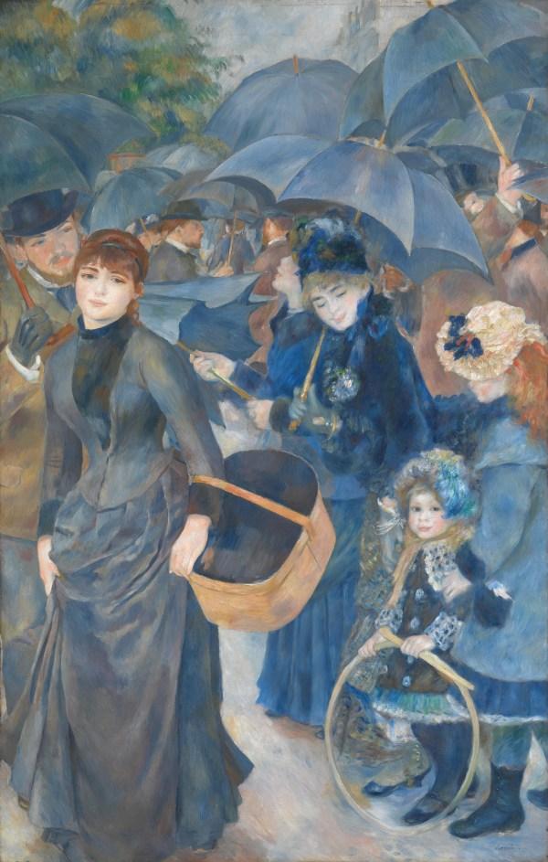 Pierre-Auguste Renoir Umbrellas