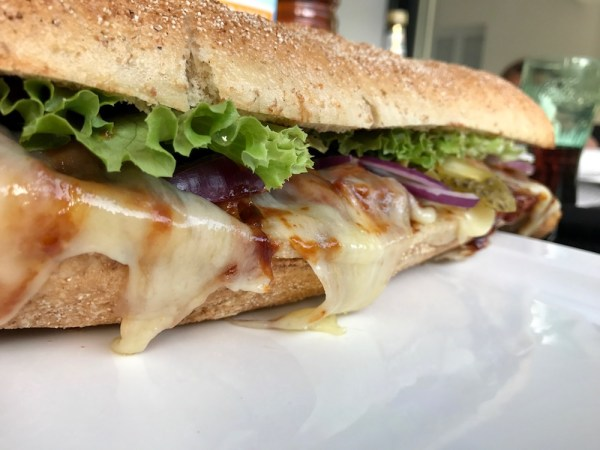 Chicken Teriyaki Sandwich im Subway Style