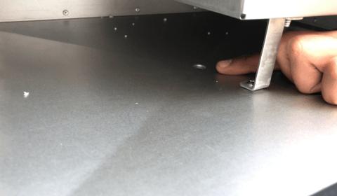 Bodenablauf für Fettauffangschale