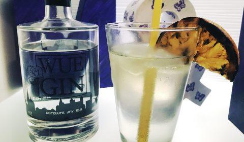 WUE GIN | Würzburg Gin mit Tonic und gegrillter Orange