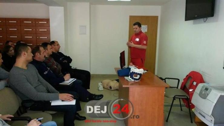 Cursuri prim ajutor politisti ISU Cluj (2)
