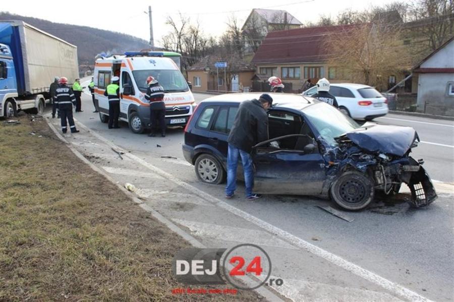 Accident DN1C Bunesti centura (1)