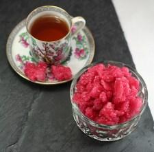 Raspberry Sugar To Drink In Tea, 17th Century