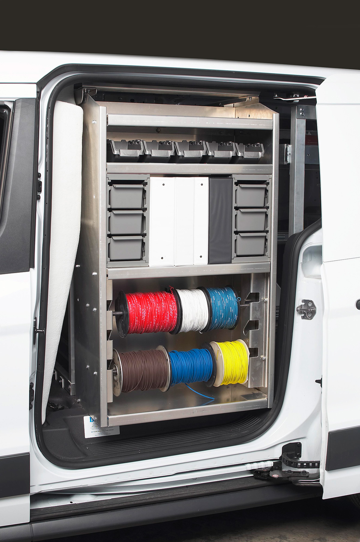 Katerack Van Shelving  Dejana Truck  Utility Equipment