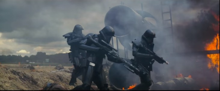 134 seconds in Death trooper victory