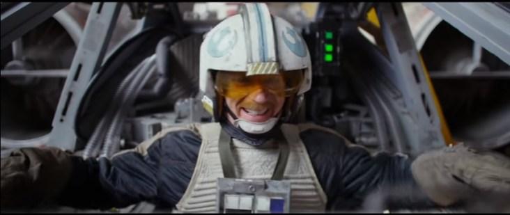 142 seconds in Rebel pilot smiling