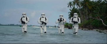 Troopers in the water