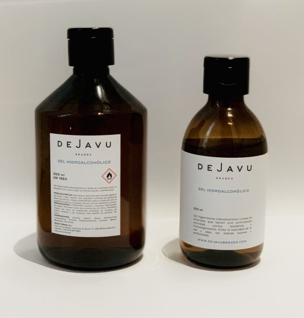 Gel hidroalcohólico perfumado - formatos
