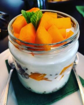 Greek Yogurt & Mangoes