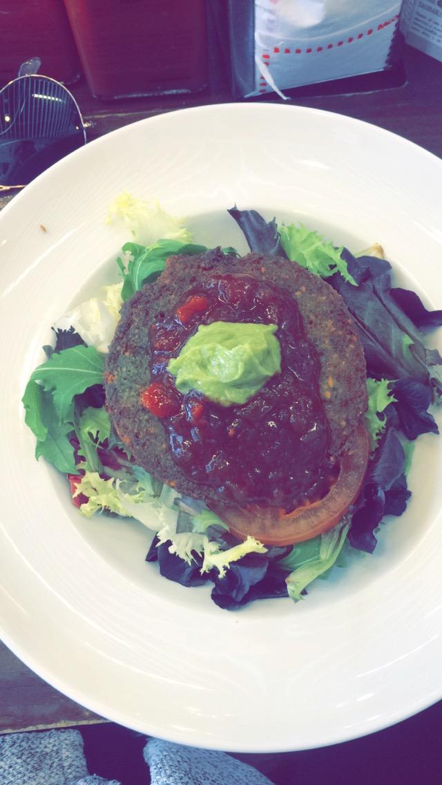 Quinoa & Spinach Burger, BACOA Barcelona