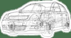 Car & Truck Car Stickers & Decals