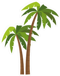 Palm Tree Vector Art : vector, Vector, Gallery