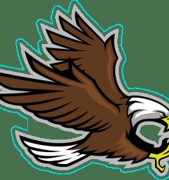 eagle mascot clipart [ 1200 x 1045 Pixel ]