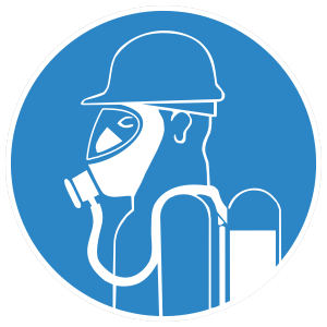 oxygen mask required sign