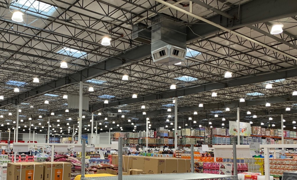Costco ceiling