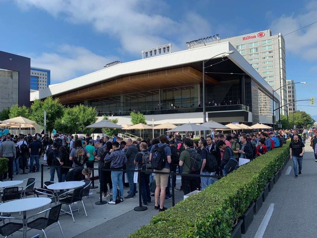 WWDC keynote line