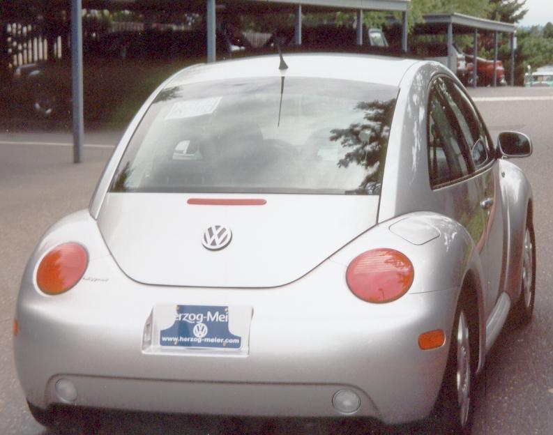 Volkswagen New Beetle car