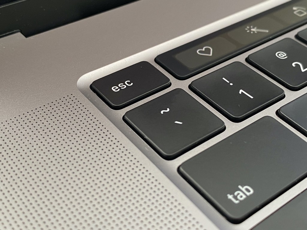 MacBook Pro 16 inch Escape key
