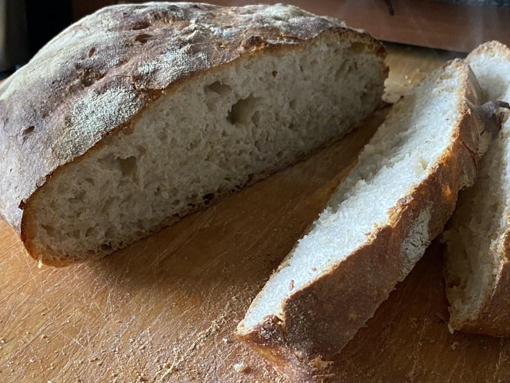 First sourdough bread