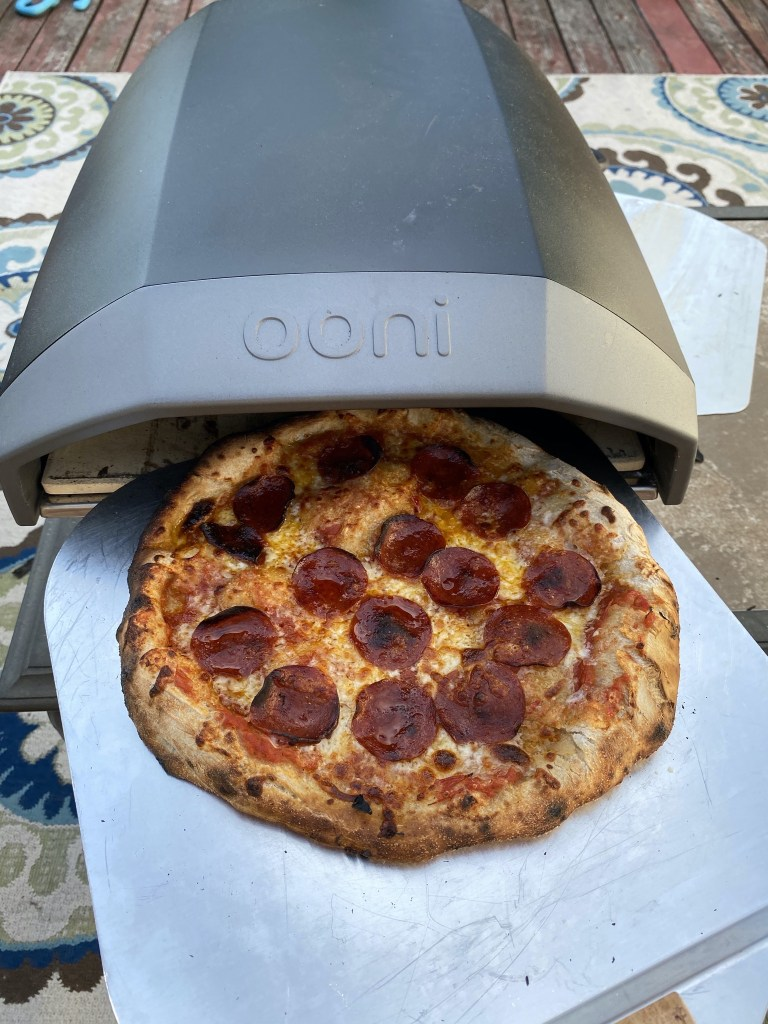 Pizza and Ooni Koda oven