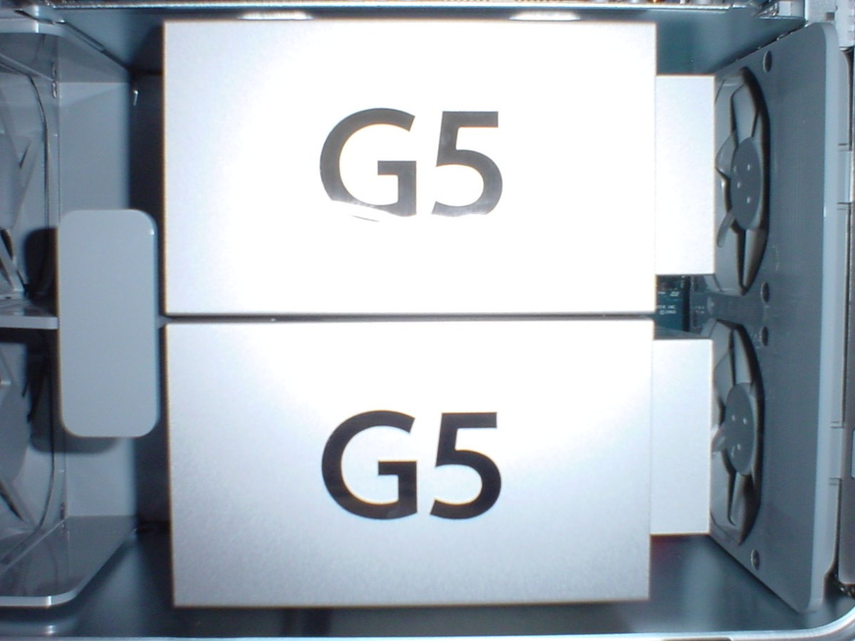 Power Mac G5 processors