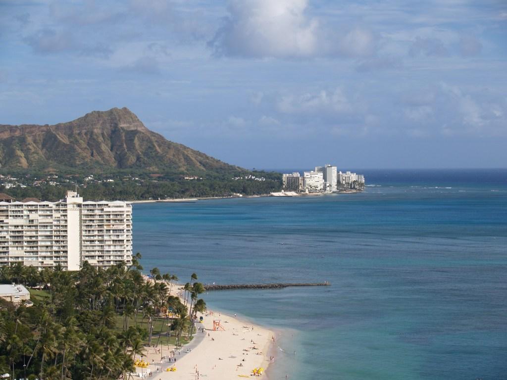 Hawaii's Diamond Head & Waikiki Beach