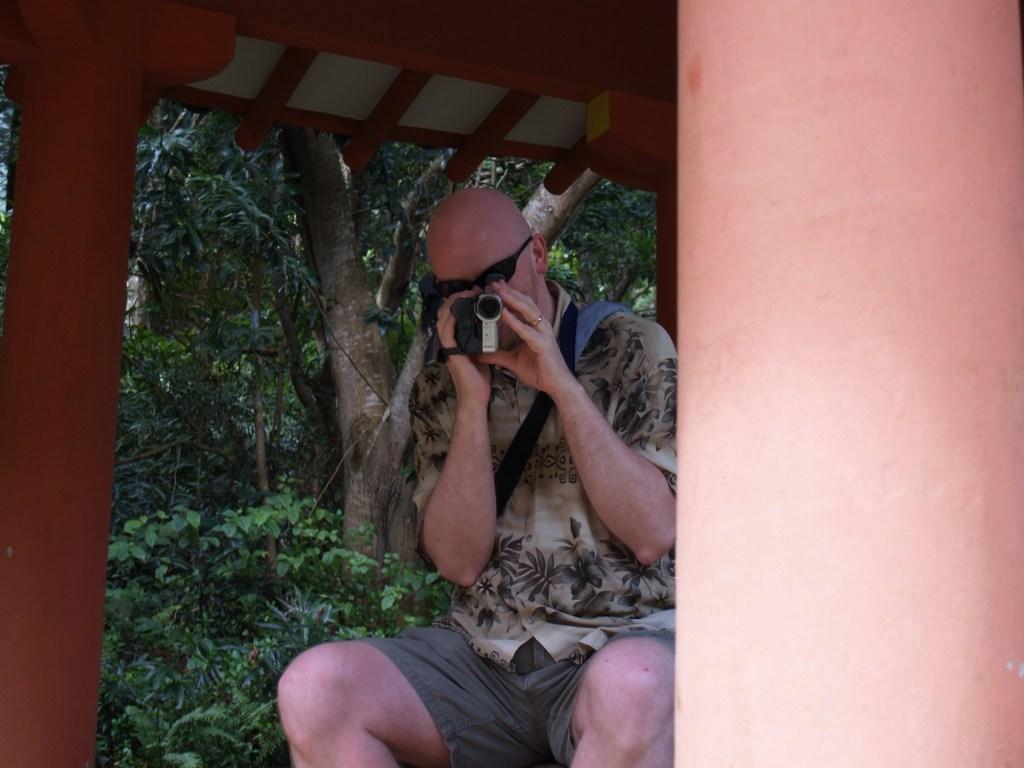 David at Byodo-In Temple