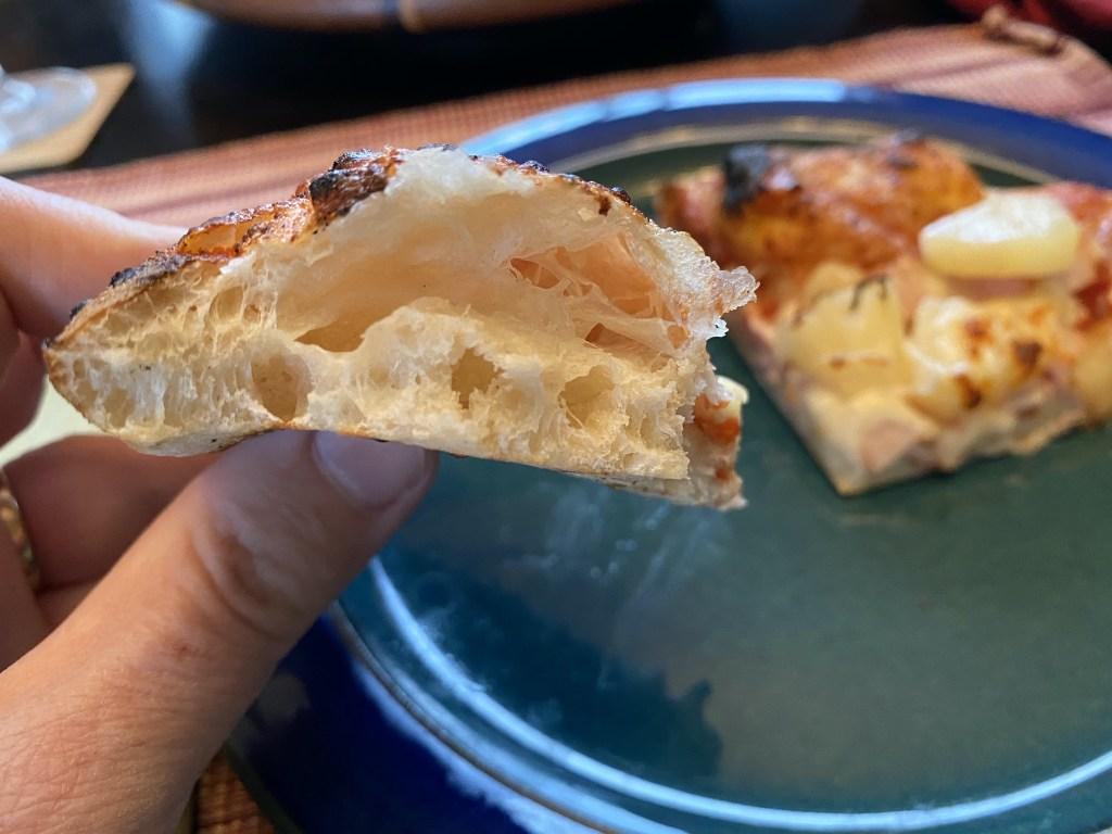 Puffy crust