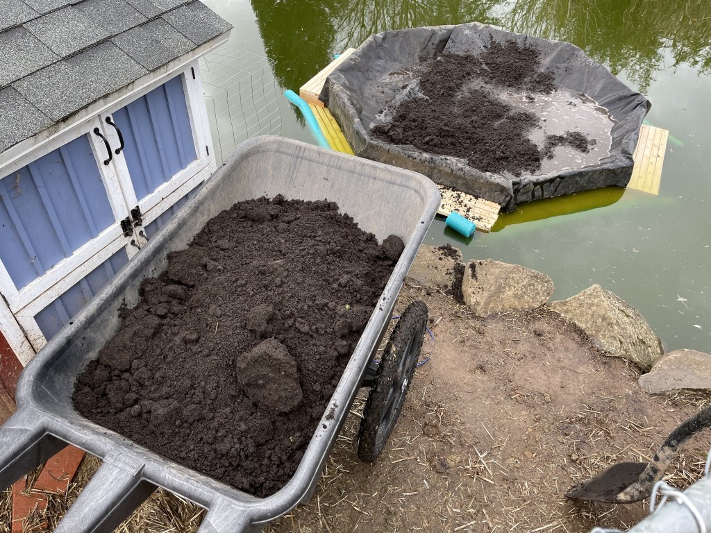 Dirt and water