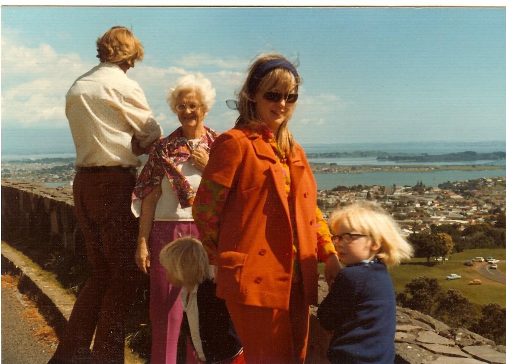 Dad, Gran, Neville, Mum, David
