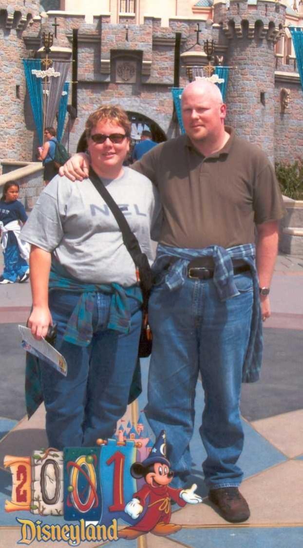 Jenn and David at Disneyland