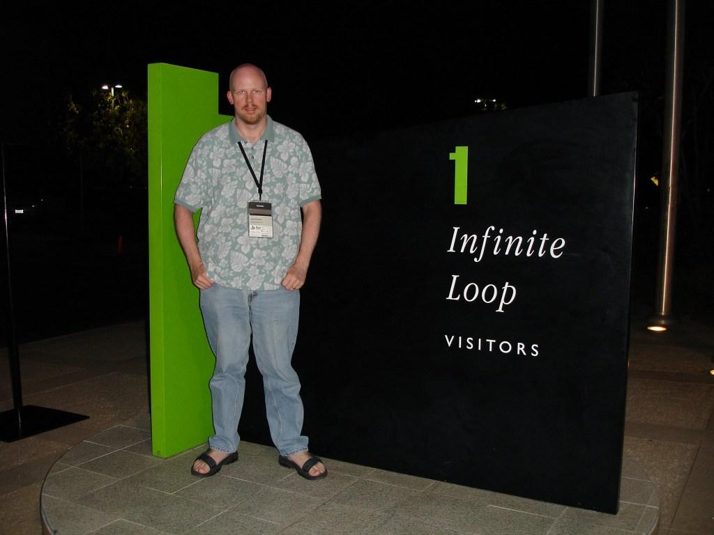 David at Apple campus