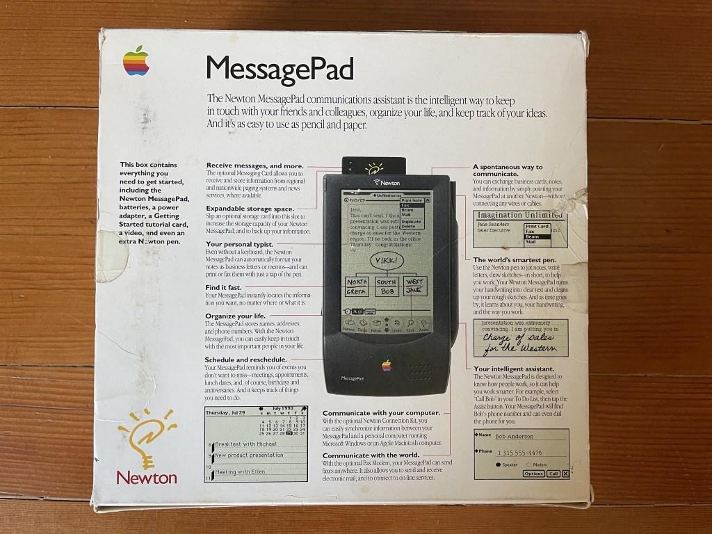 Newton MessagePad box
