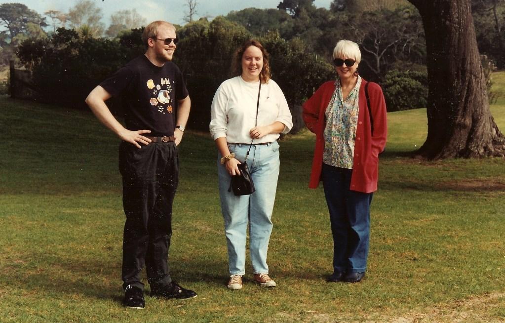 David, Jenn, Mum