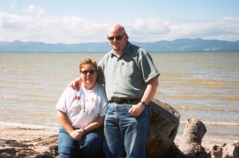 Jenn and David
