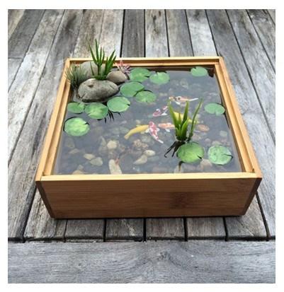 model kolam ikan mini