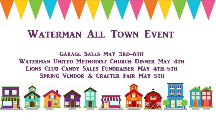 Waterman and Cortland Host Town Wide Garage Sales this weekend  DeKalb County Online