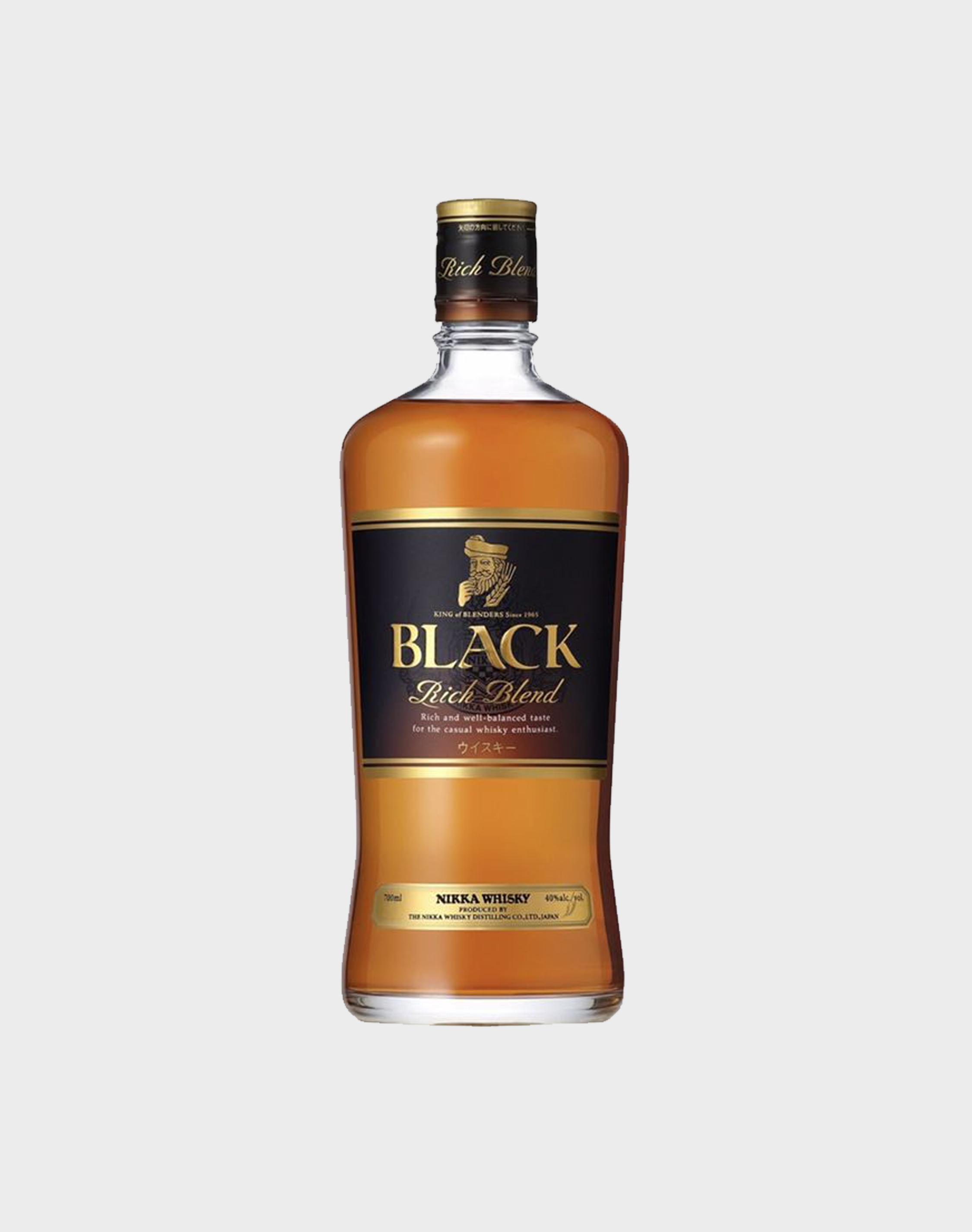 nikka black rich blend