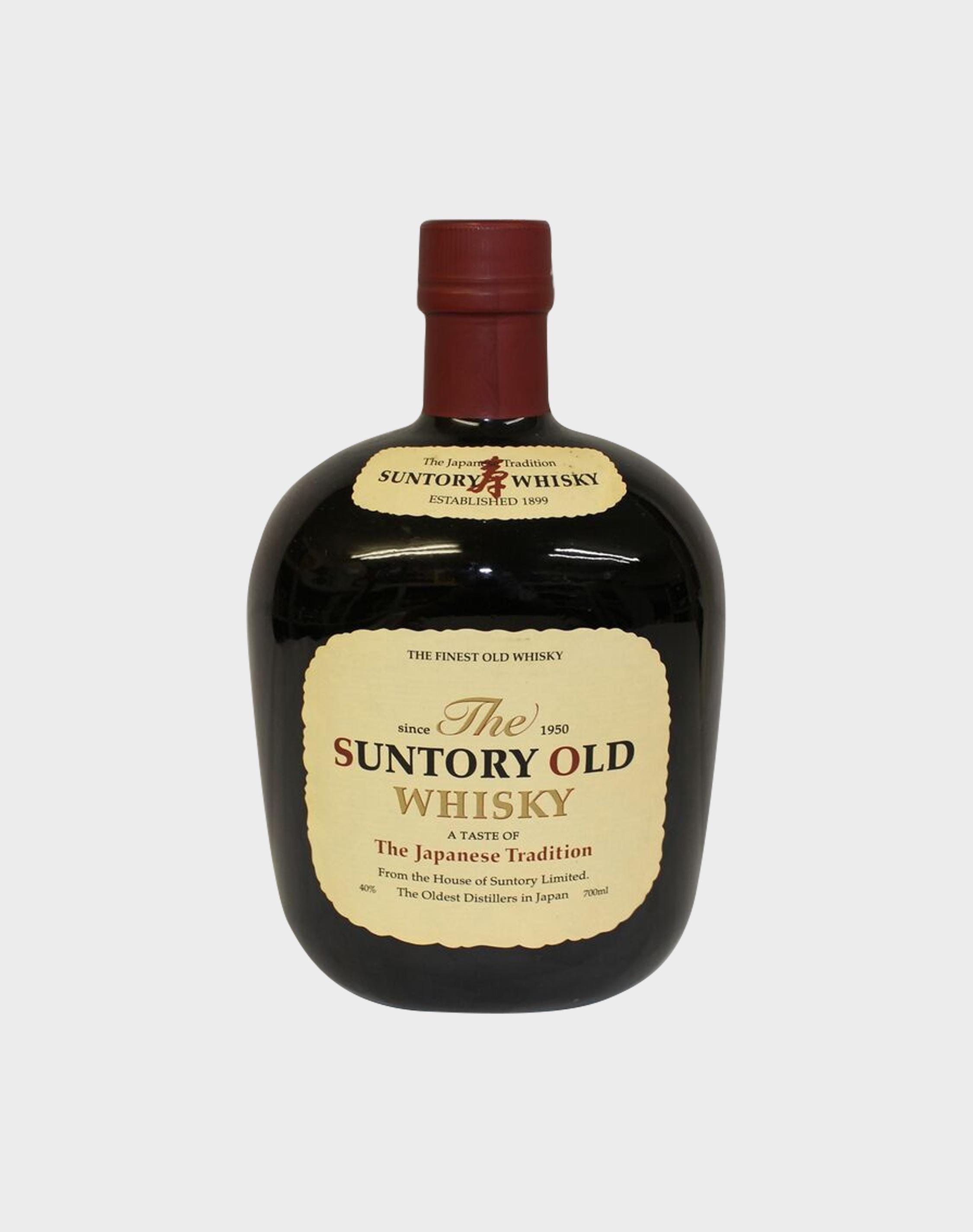 The Suntory Old Whisky Since 1950 - dekantā