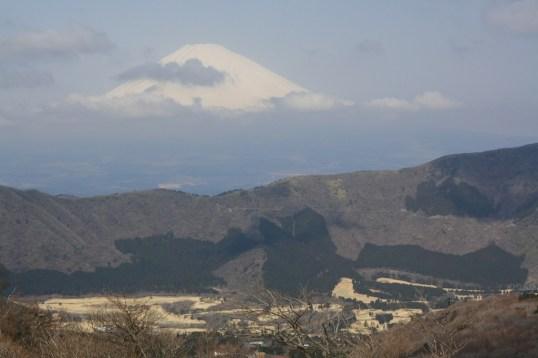 Mount Fuji, view from Owakudani