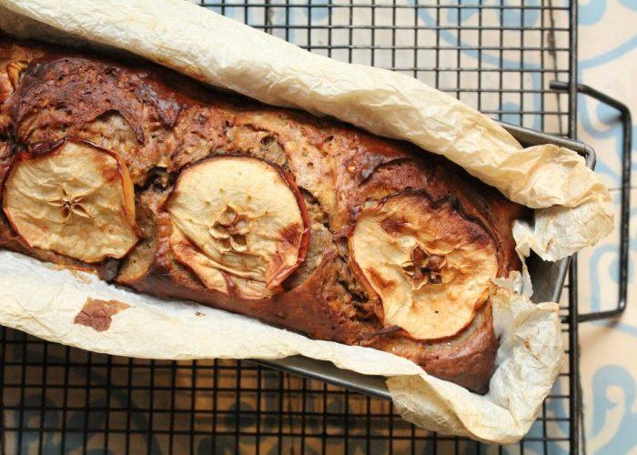 bananenbrood met appel